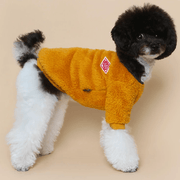 Teddy Fleece Sweater Yellow - Sir Dogwood