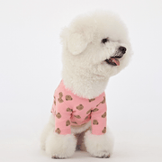 Bebe Bear Tee Pink - Sir Dogwood