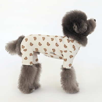 Bebe Bear Onesie Cream - Sir Dogwood