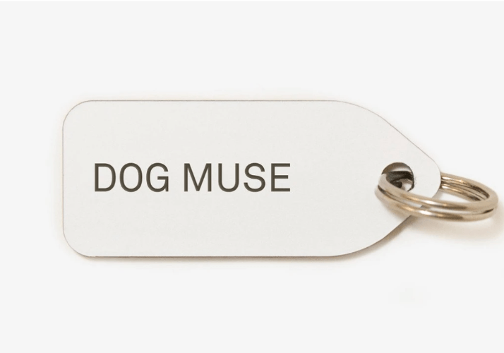 Dog Muse Collar Charm - Sir Dogwood