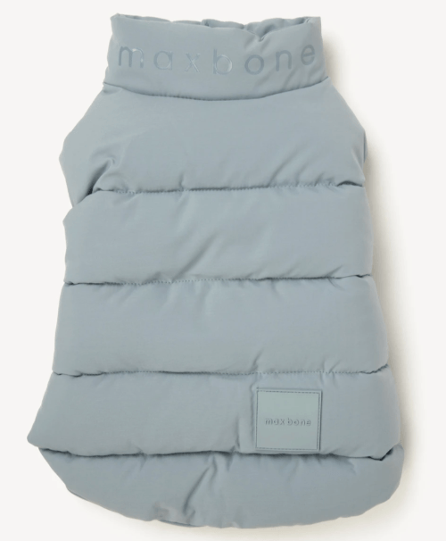 Arabella Puffer Vest Blue - Sir Dogwood