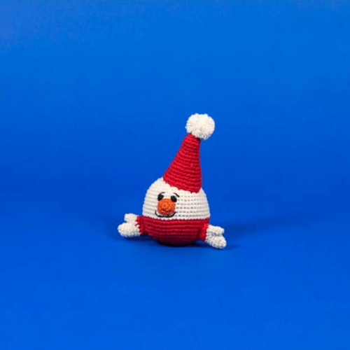 Cotton Crochet Santa - Sir Dogwood