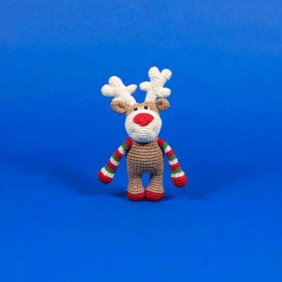 Cotton Crochet Reindeer - Sir Dogwood