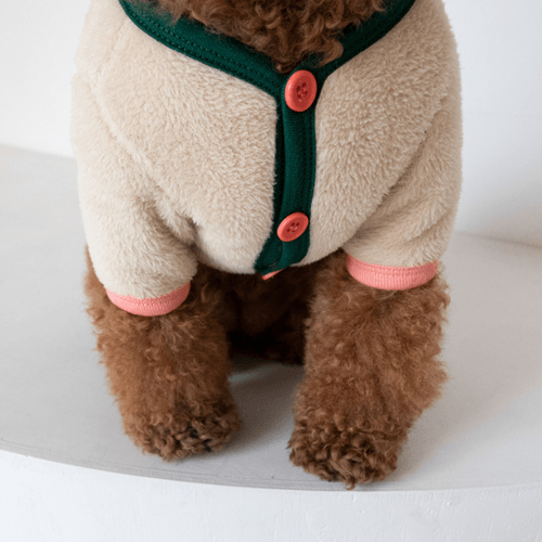 Moon Bear Cardigan Beige - Sir Dogwood