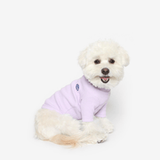 Basic Turtleneck Tee Lilac - Sir Dogwood