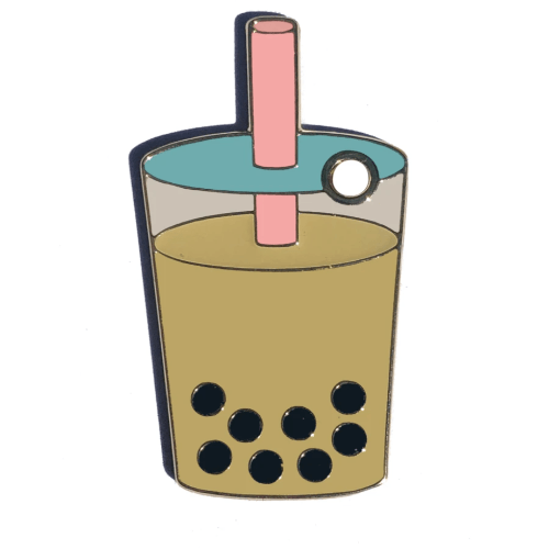 Bubble Tea Collar Charm - Sir Dogwood