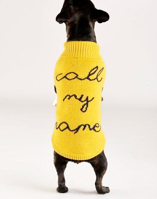 Call My Name Sweater