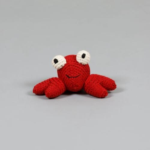 Crochet Crab Toy - Sir Dogwood