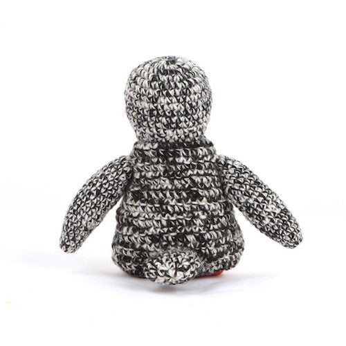 Hand Knit Penguin Toy - Sir Dogwood