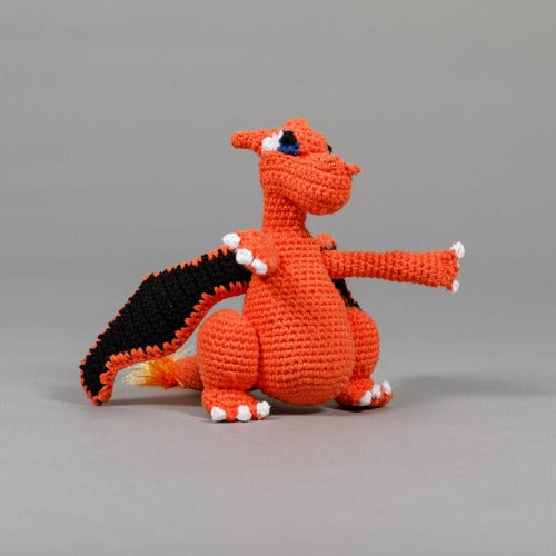 Hand Crochet Dragon Toy - Sir Dogwood