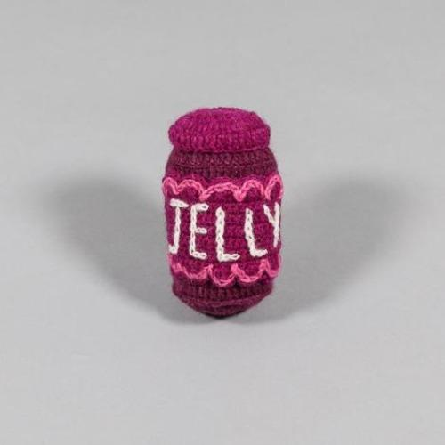 Hand Knit Jelly Toy - Sir Dogwood