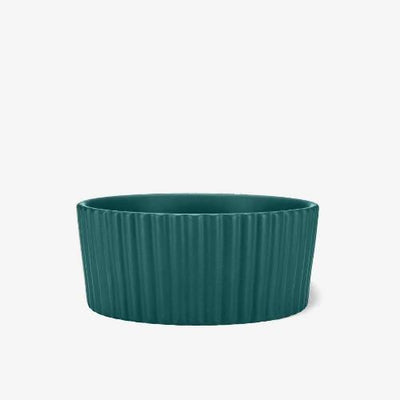 Ripple Pet Bowl Teal - Sir Dogwood
