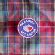I'm a Lover Not a Biter Merit Badge - Sir Dogwood