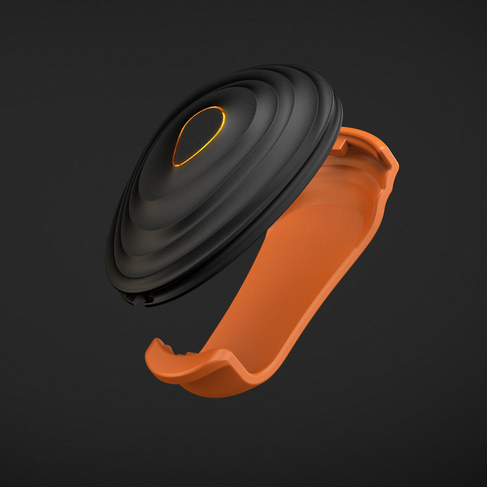 Previous Generation Stryd Foot Pod Clip - Orange