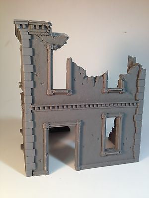 28mm Large Urban Building Ruin Resin 40k Dust Malifaux Terrain Scenery Wargaming