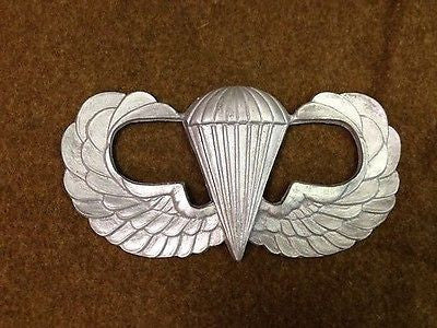 Airborne Jump Wings Resin Plaque