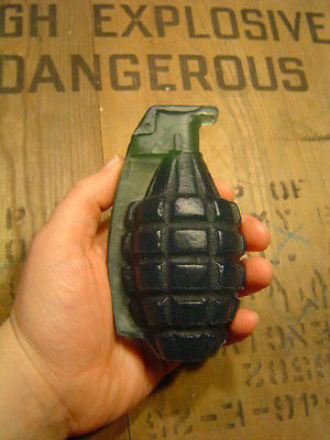 WWII WW2 US United States Pineapple Grenade SOAP Stinky Bomb