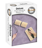 The Woolie Original and Woolie 2-Color Dual Split Roller DELUXE MULTI-TECHNIQUES Sheepskin/Lambswool Faux Painting Kit
