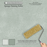 sponge texture painting, wall paint techniques two colors, sponging paint, wall paint tool,