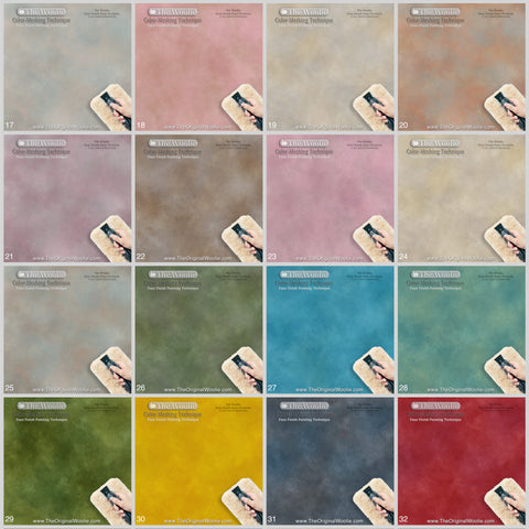 Official the woolie faux paint original sheepskin painting combo set the woolie faux finishing original sheepskin paint pad combo set altavistaventures Image collections