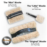 The Woolie MINI - Natural Sheepskin Faux Paint and Glaze Techniques Pad 5.5 x 4 inches - 3/4 inch Nap