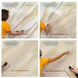 How to paint marble -marble painting - woolie painting - way to paint a marble finish - faux finish marble - faux glaze fake marble by The Woolie and The Original Woolie