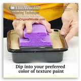 Wall repair, texture float, texture trowel - Texture Painting Tools & How To Faux Finish Texture Trowel by The Woolie Step 2