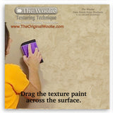 Wall repair, texture float, texture trowel - Texture Painting Tools & How To Faux Finish Texture Trowel by The Woolie Step 3