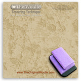 Wall repair, texture float, texture trowel - Texture Painting Tools & How To Faux Finish Texture Trowel by The Woolie Step 4