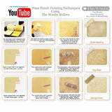 sponge painting technique, wall painting texture techniques, sponge painting techniques, wall painting videos,