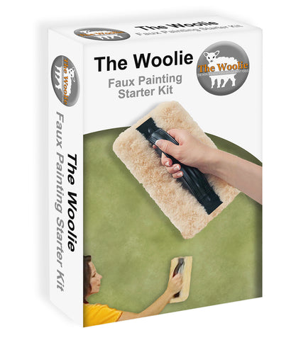 The Woolie Original Faux Painting BEGINNER STARTER TOOLKIT - Faux Pack (As seen on YouTube)