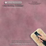 The Woolie MINI -Natural Sheepskin Faux Paint and Glaze Techniques Pad 5.5 X 4 in x 3/4 in. Thick Nap