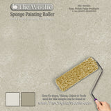 sponge wall painting ideas, wall techniques, sponging painting, wall faux finish,
