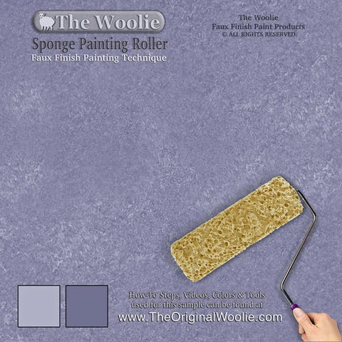 Sponge Painting Roller Faux Painting Technique Value 2 Pack Rollers For Walls By The Woolie