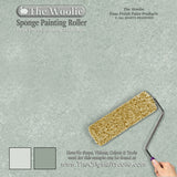 sponge painting designs, wall painting instruments, sponge painting examples, wall painting methods,