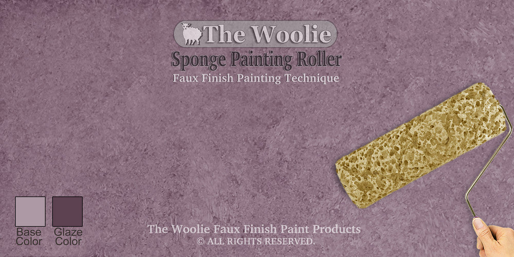 Sponge Painting Color Ideas and Samples