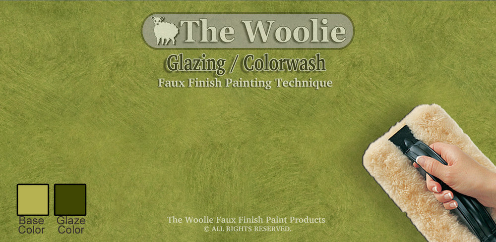 Faux Glazing Method Techniques Paint Colors The Woolie