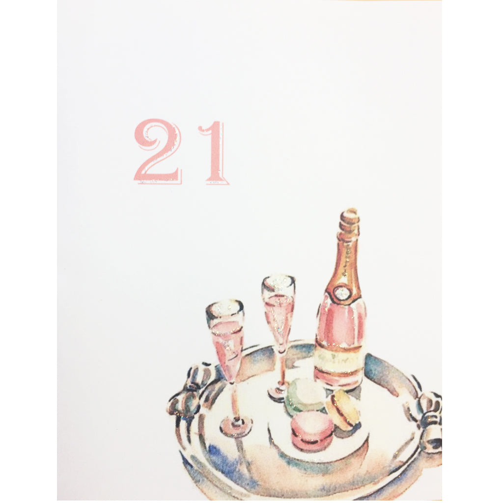 21st Birthday Card Lumia Designs