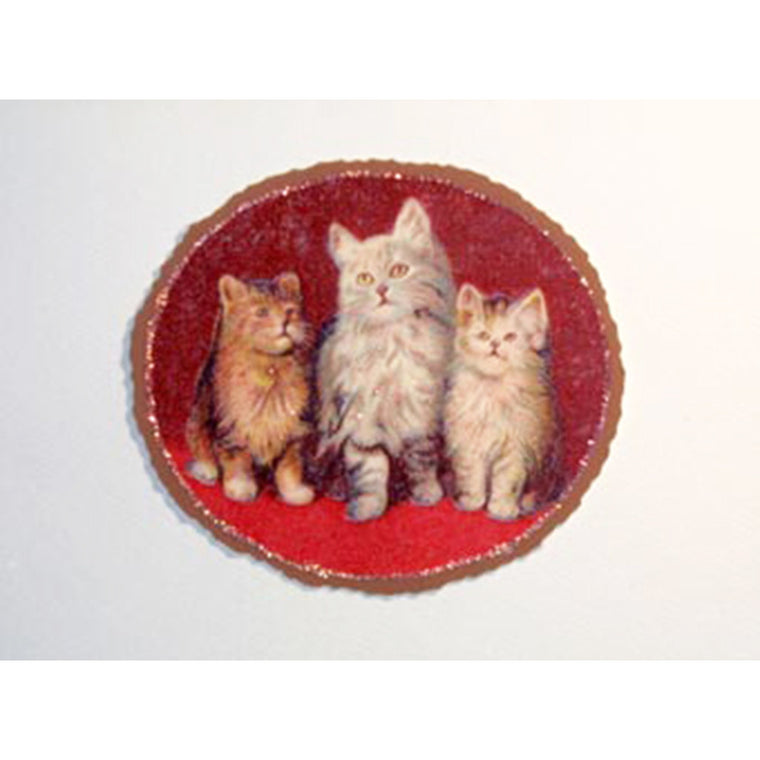 Greeting Card Vintage Kittys - Lumia Designs
