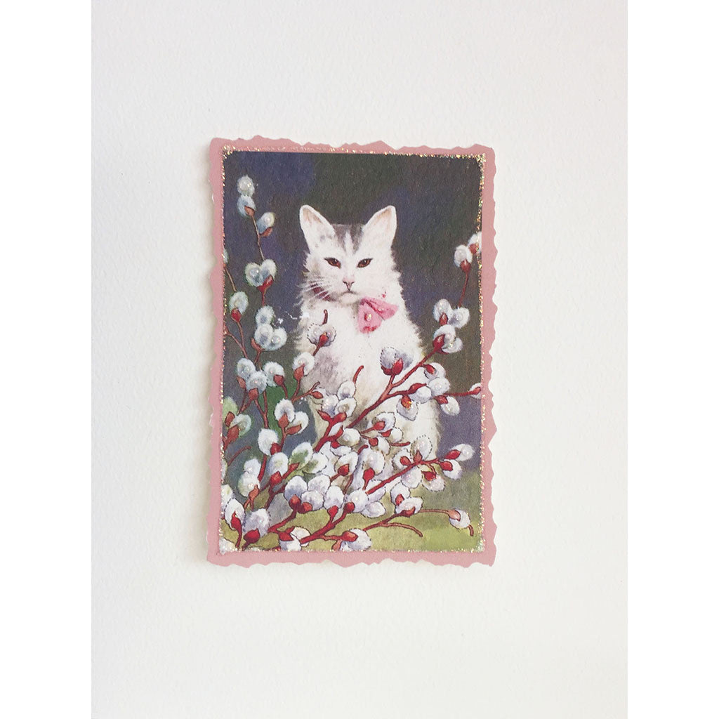 Greeting Card Kitty Willow - Lumia Designs