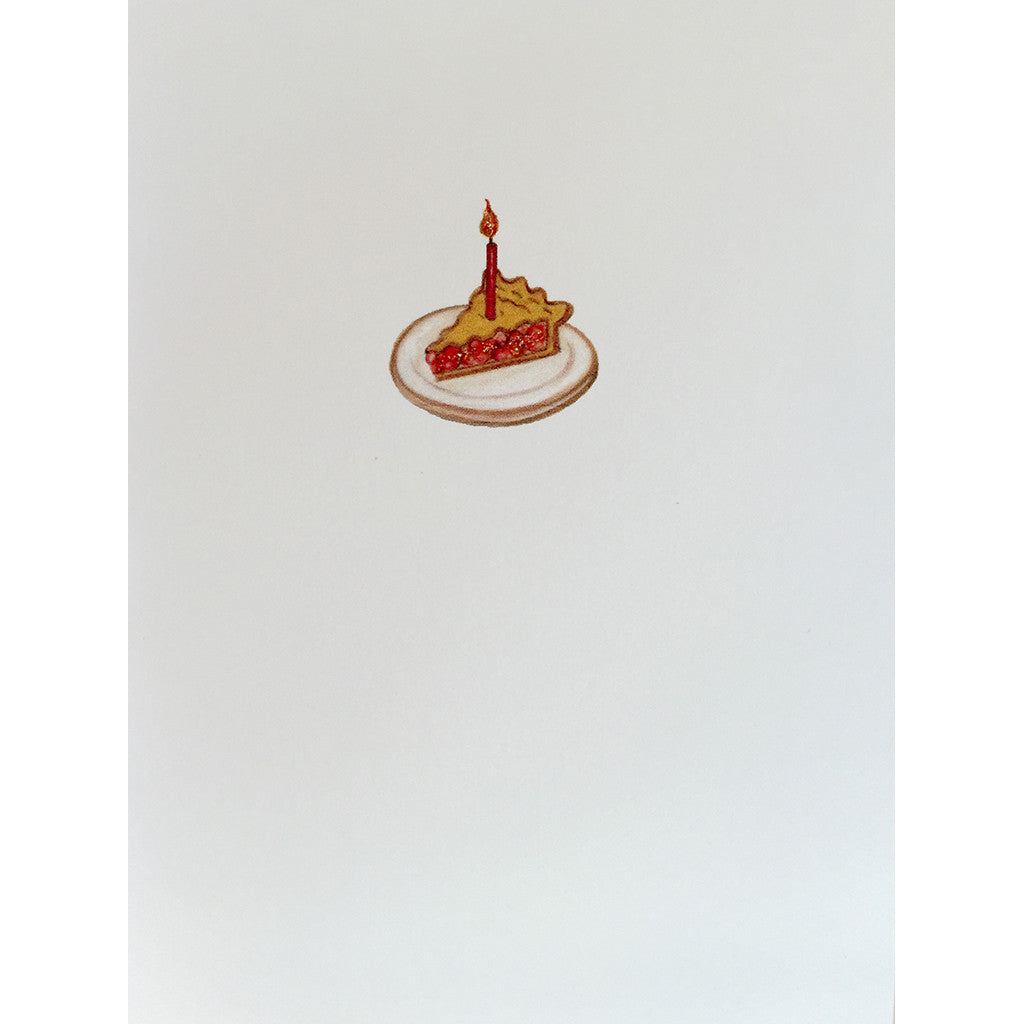Greeting Card Cherry Pie - Lumia Designs
