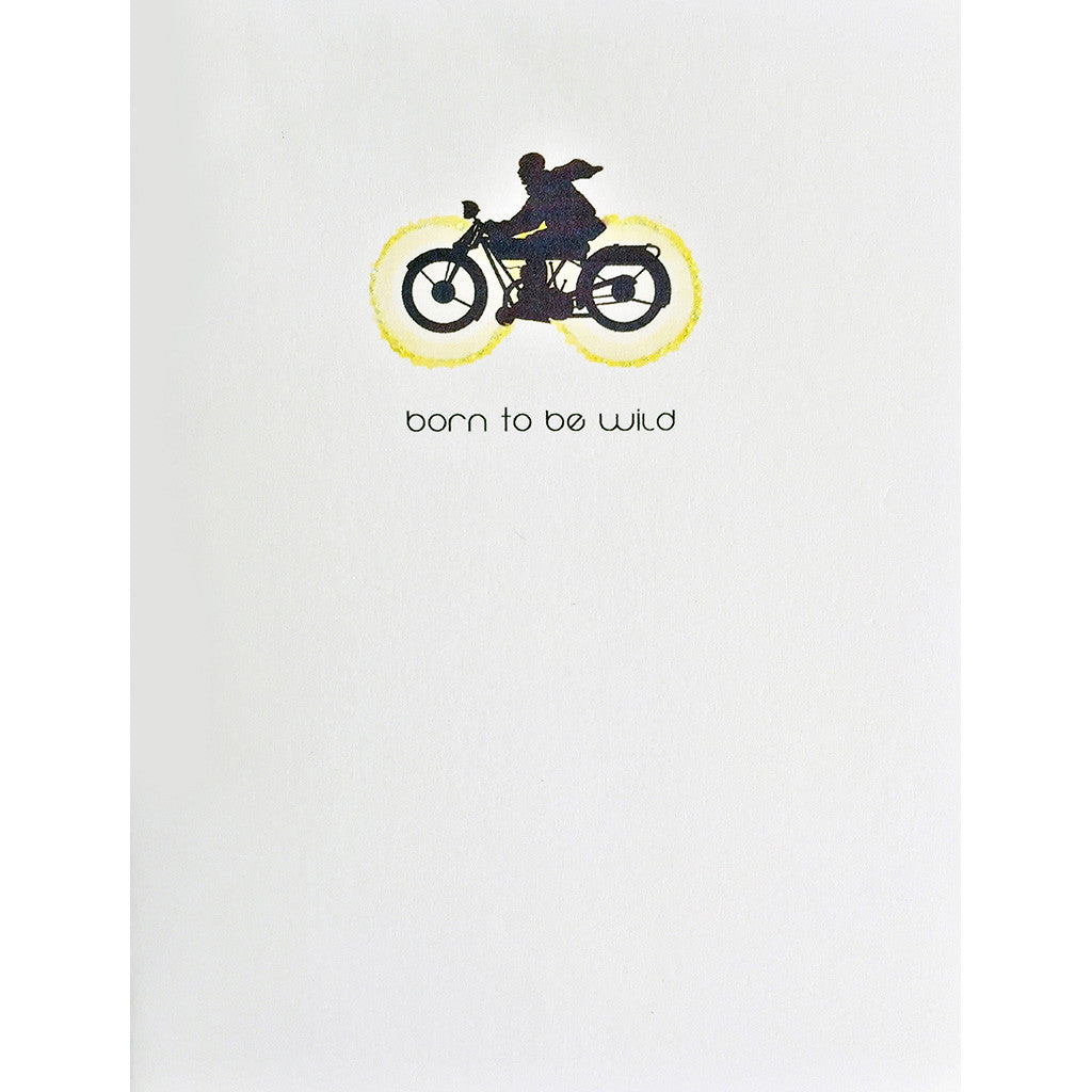 Greeting Card Born to be Wild - Lumia Designs