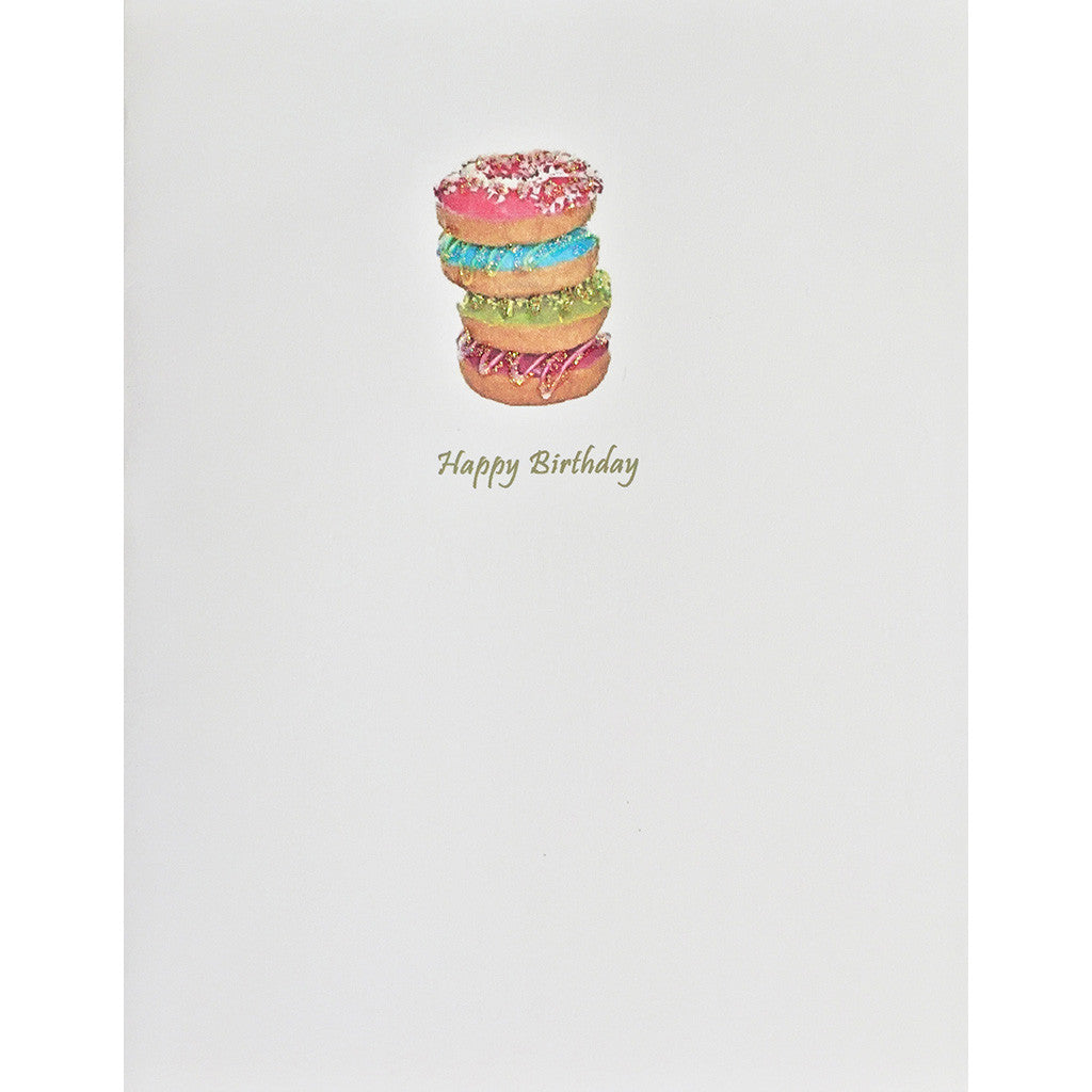 Greeting Card Stack Of Donuts - Lumia Designs