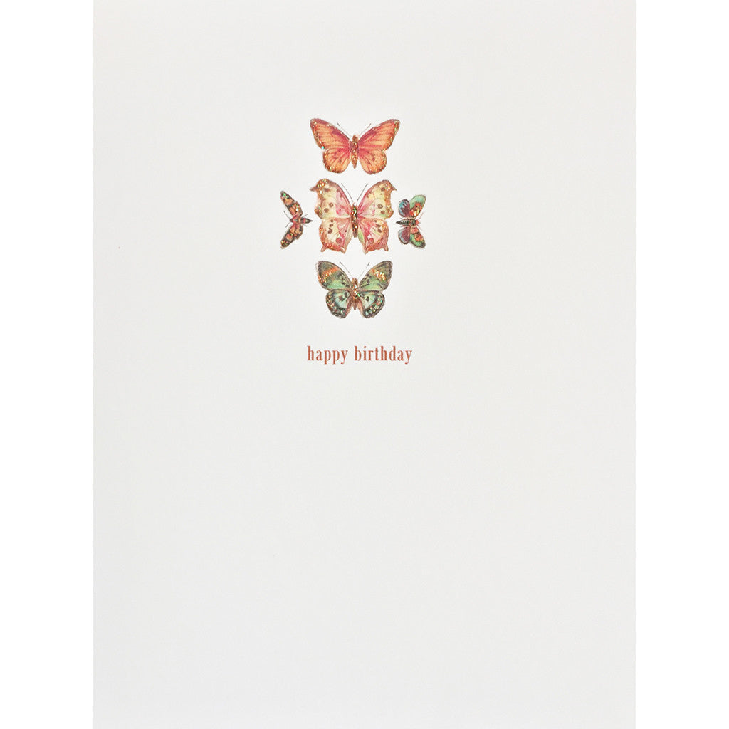 Butterflies Birthday Card- Lumia Designs