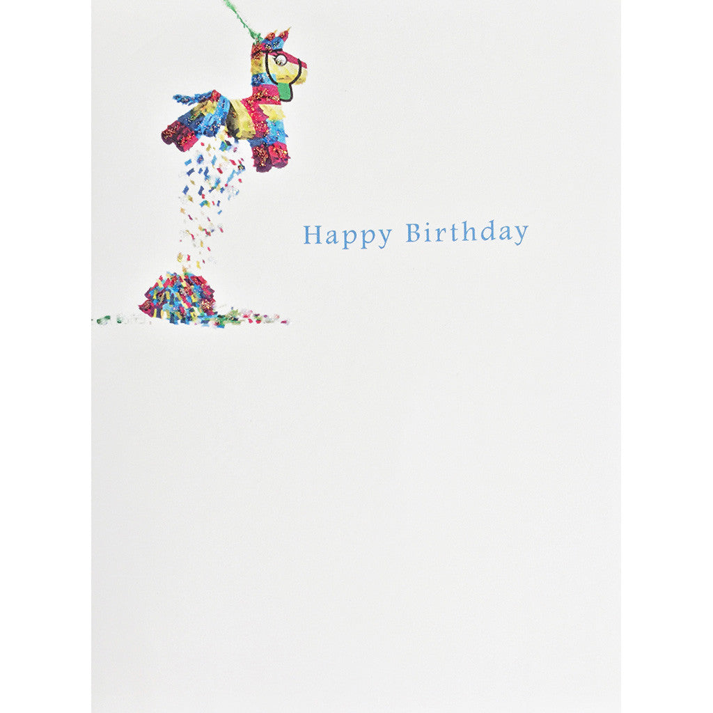 Greeting Card Pinata Birthday - Lumia Designs