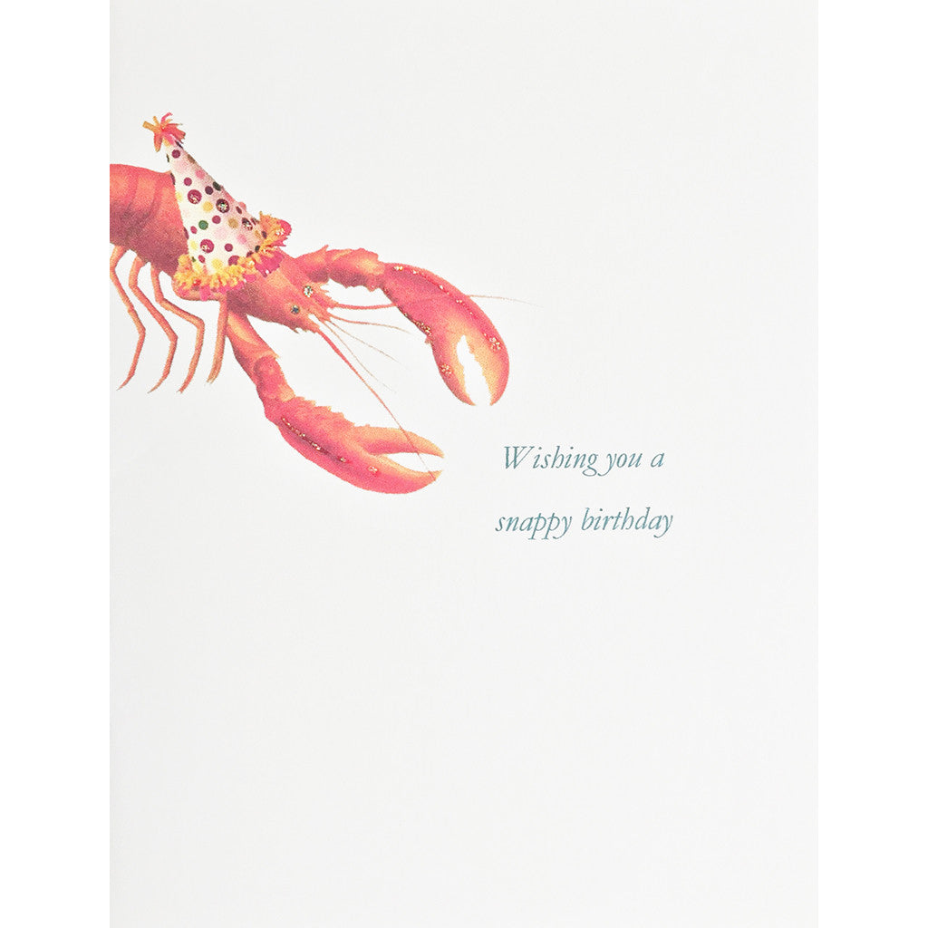 Greeting Card Snappy Birthday - Lumia Designs