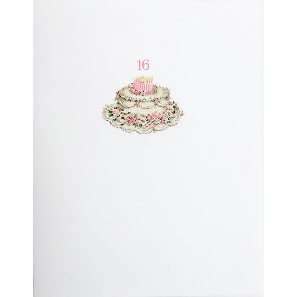 Sweet 16 Birthday Card - Lumia Designs