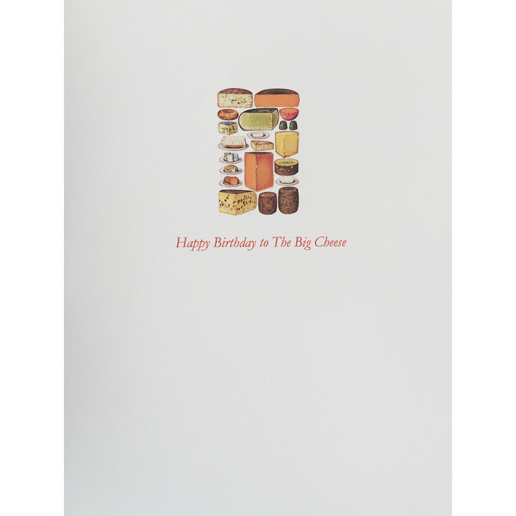Big Cheese Birthday card Lumia Designs