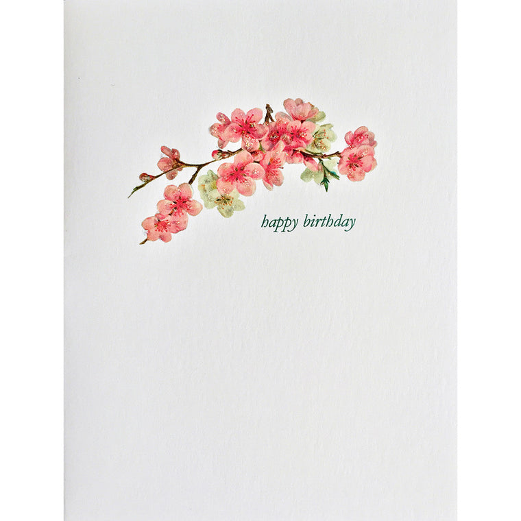 Greeting Card Cherry Blossom Birthday - Lumia Designs