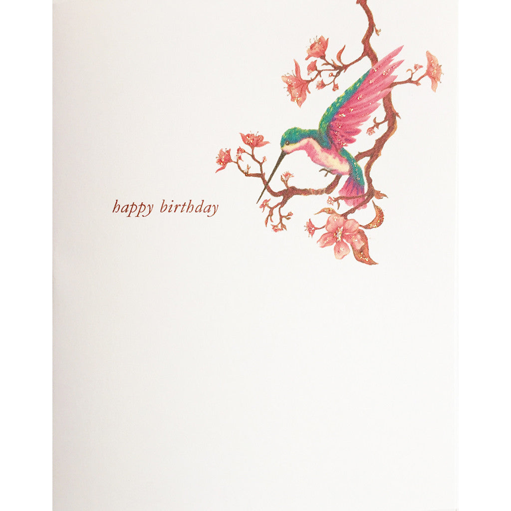 Greeting Card Hummingbird - Lumia Designs